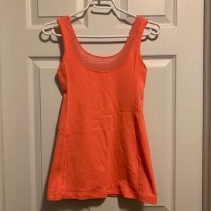 Lululemon Neon Orange Tank